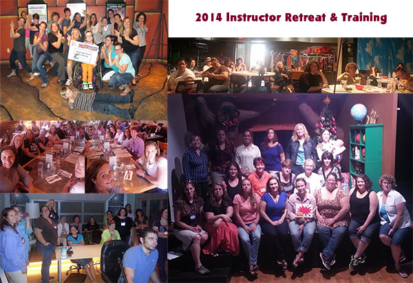 2014 Instructor Retreat & Training