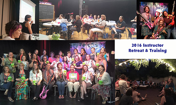 2016 Instructor Retreat & Training