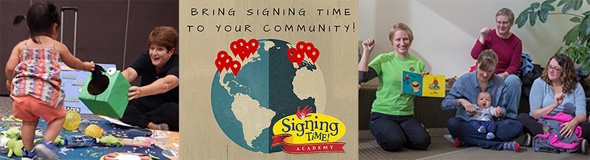 Signing Time Academy Instructors