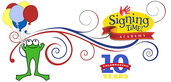 Signing Time Academy 10 year Celebration